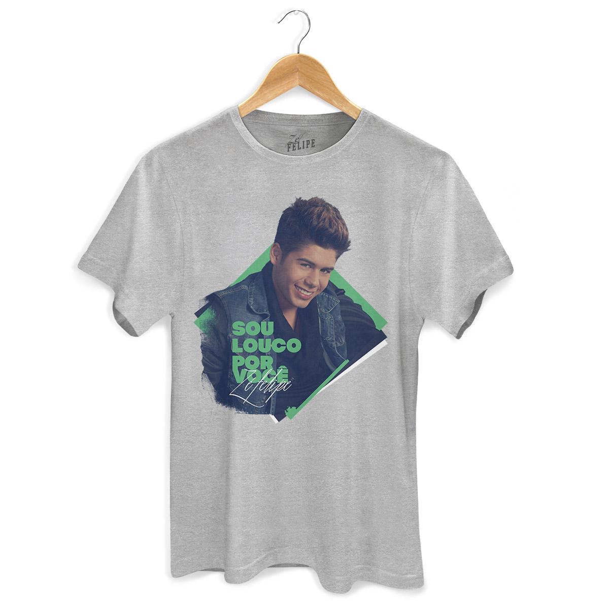 Camiseta Masculina Zé Felipe Louco Por Você Foto
