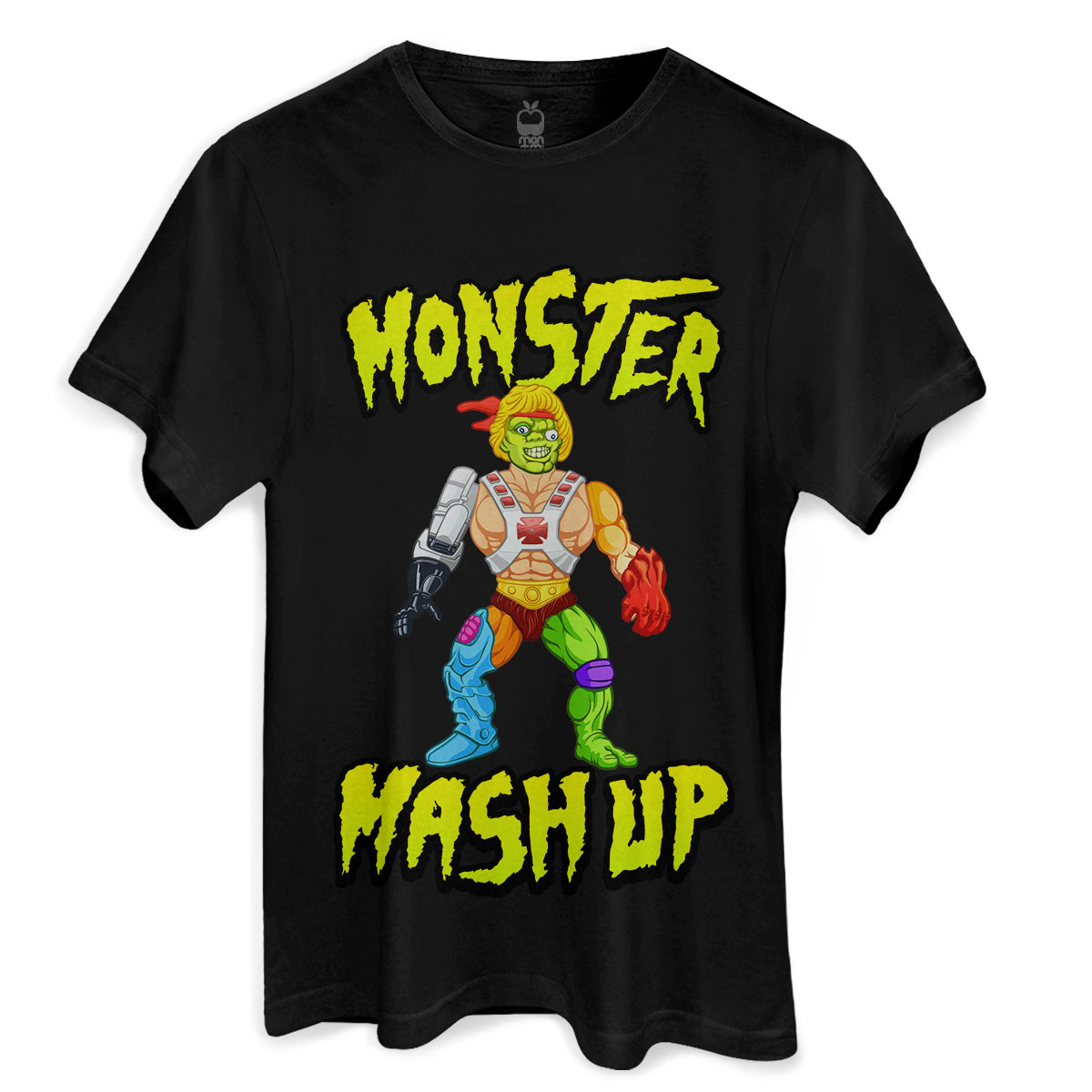 Camiseta Monstra Maçã Monster Mash Up