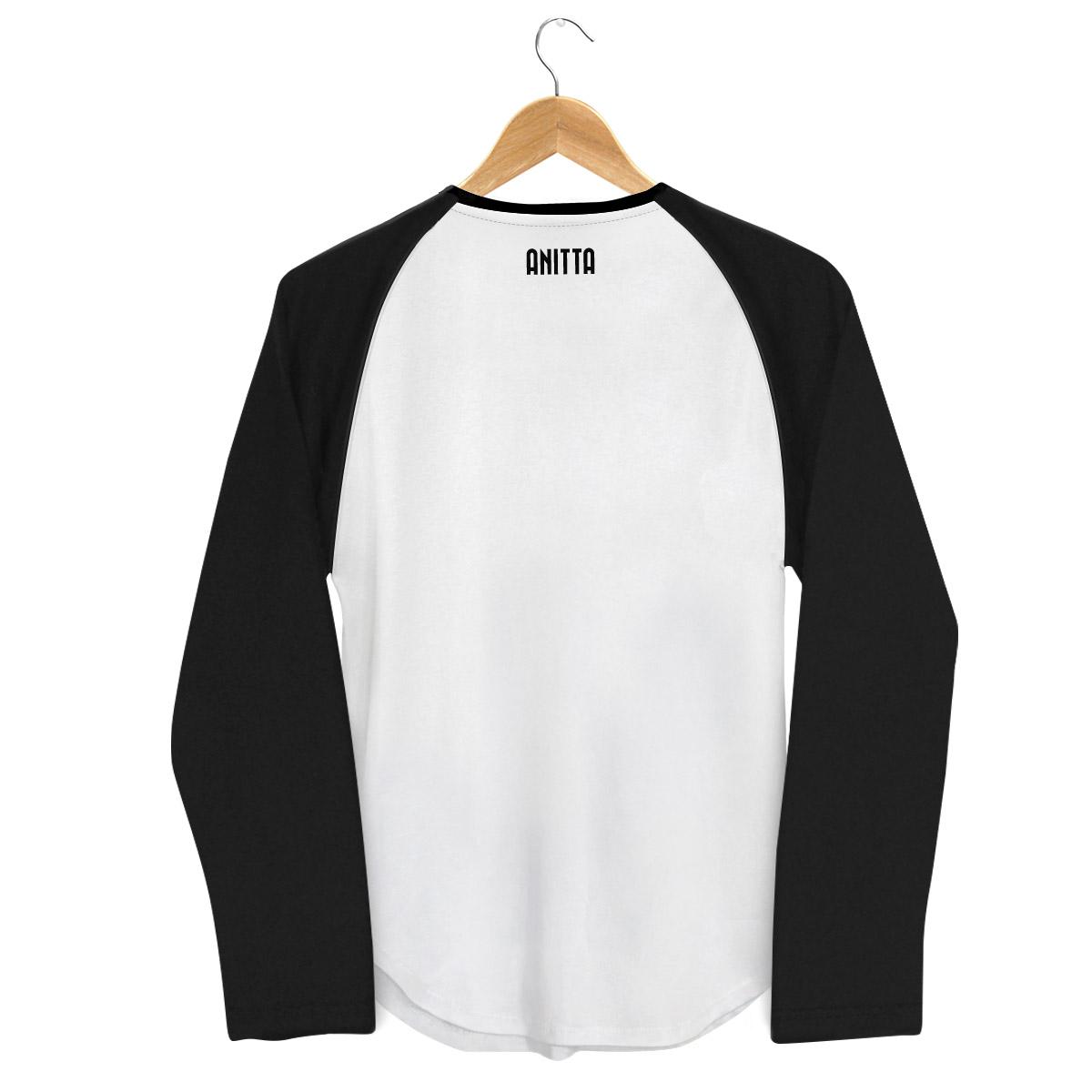 Camiseta Raglan Feminina Anitta Pop Art