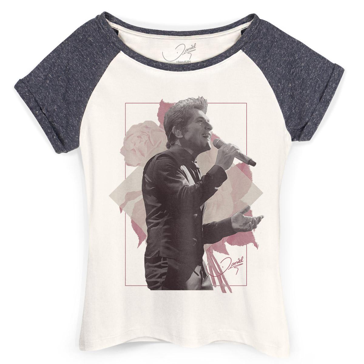 Camiseta Raglan Feminina Daniel Rosas