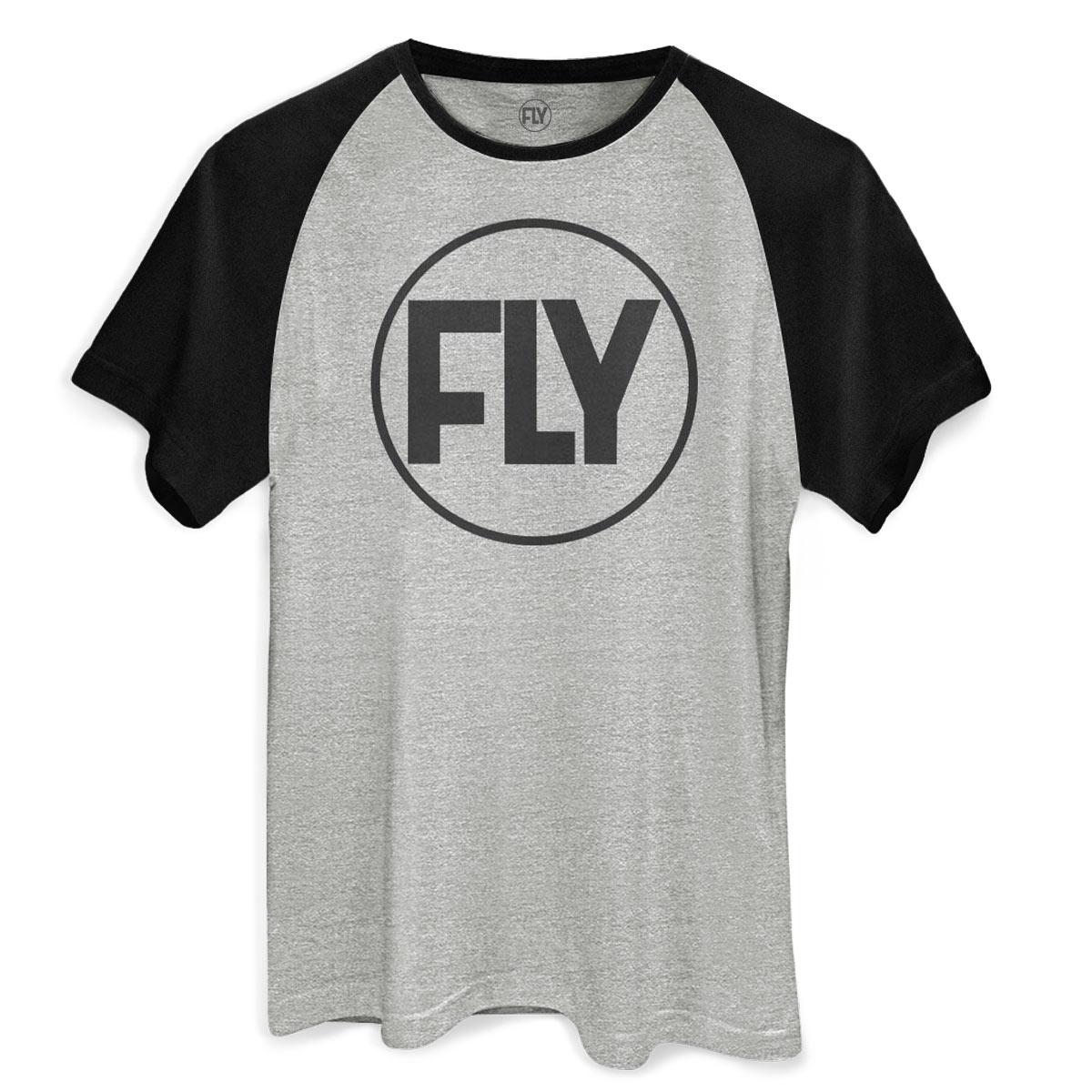 Camiseta Raglan Masculina Banda Fly Logo