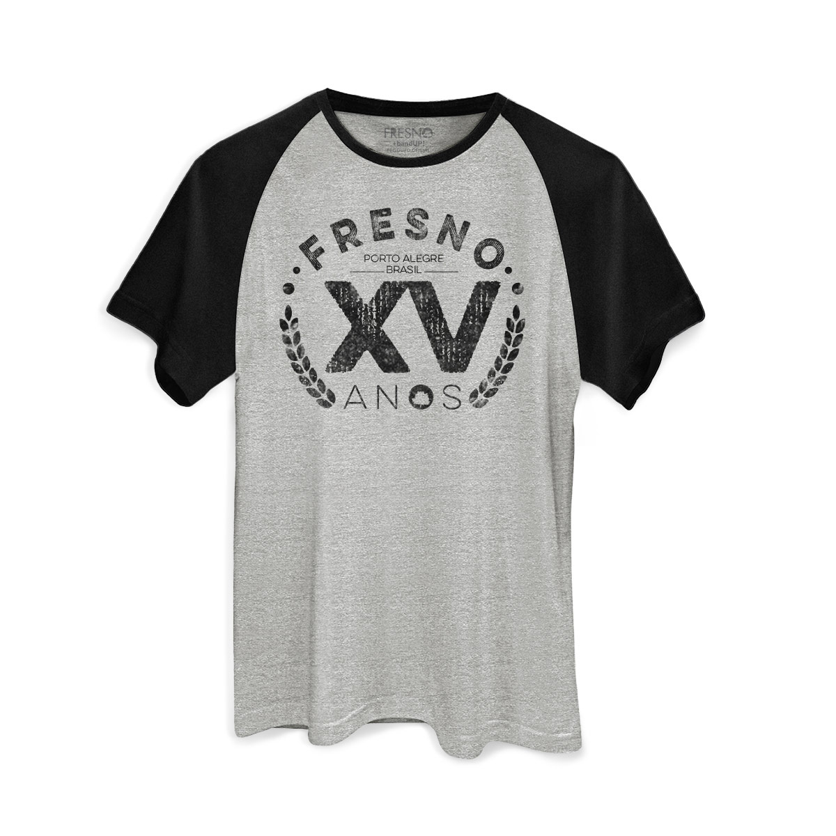 Camiseta Raglan Masculina Fresno XV Anos