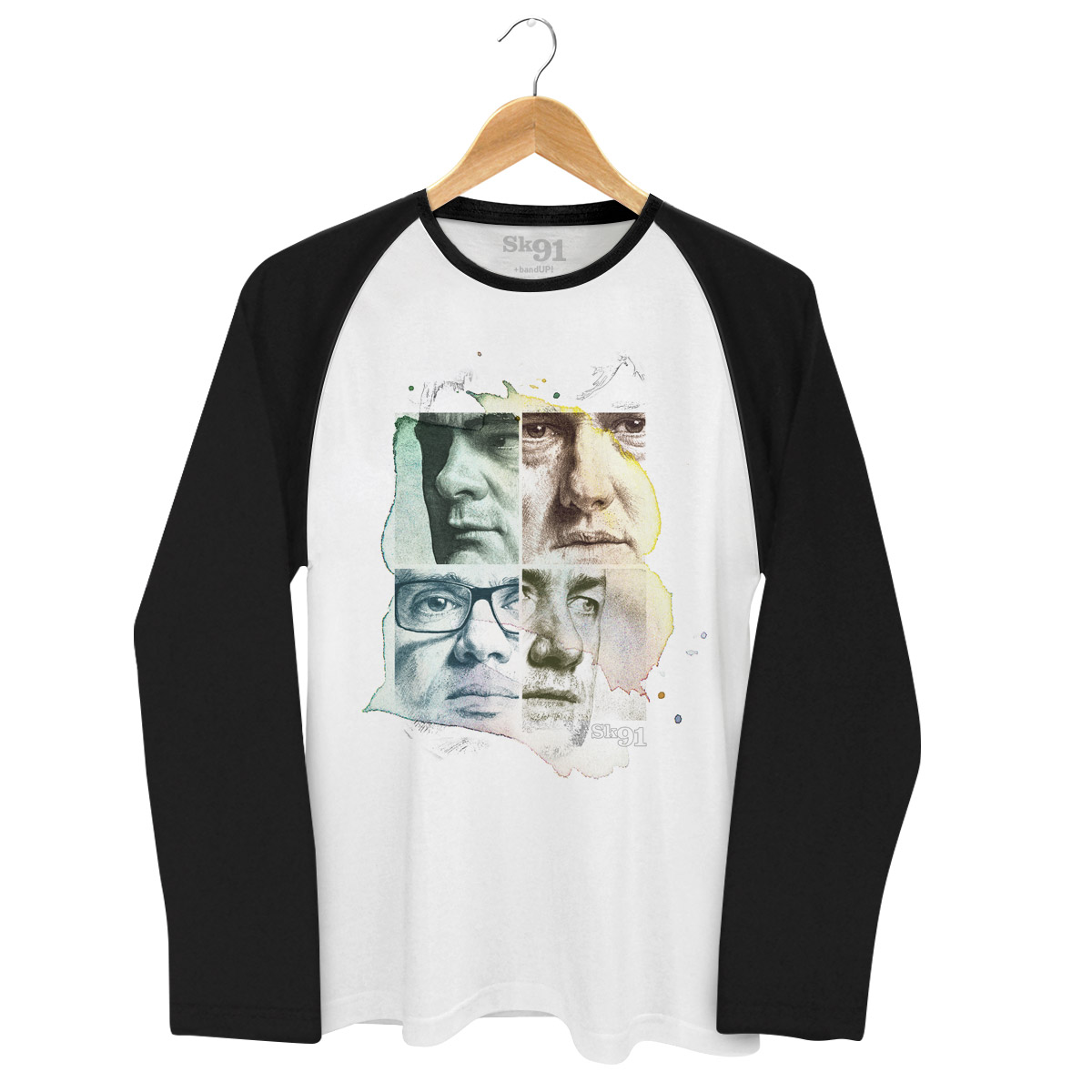 Camiseta Raglan Masculina SK91 Capa