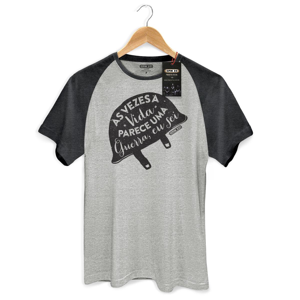Camiseta Raglan Premium Masculina CPM 22 Nossa Música