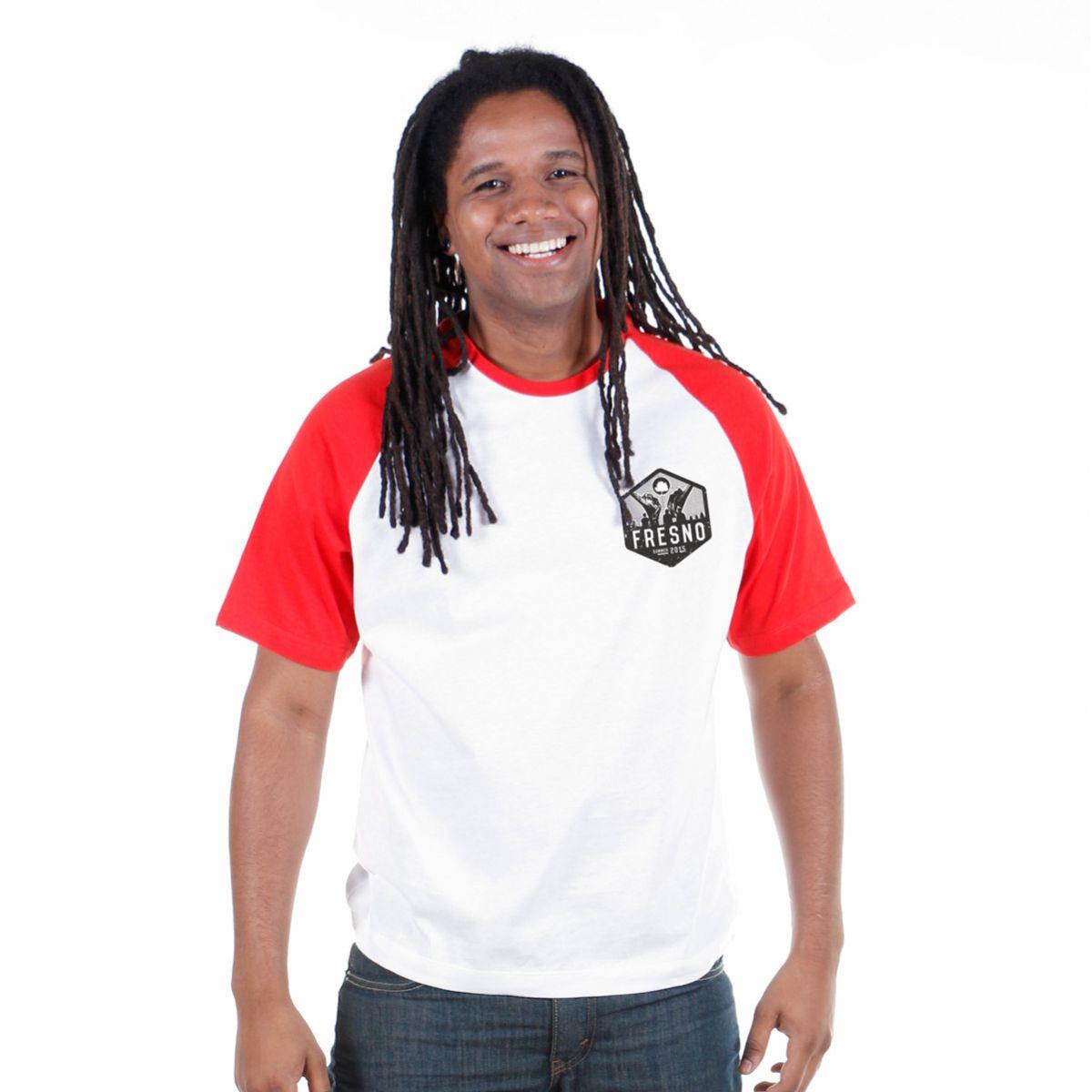 Camiseta Raglan Premium Masculina Fresno True Crew
