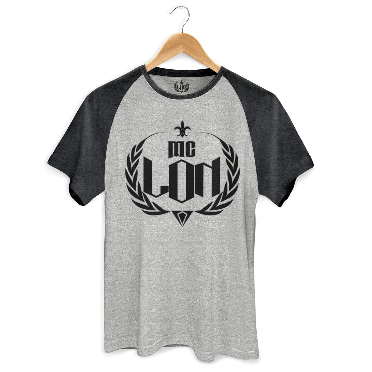 Camiseta Raglan Premium Masculina MC Lon Logo