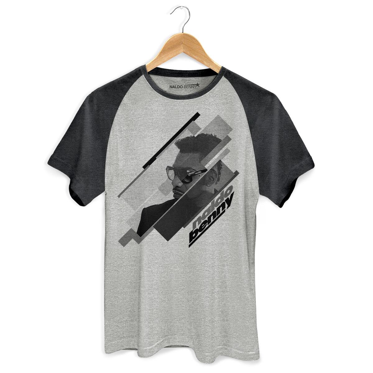 Camiseta Raglan Premium Masculina Naldo Benny Perfil PB