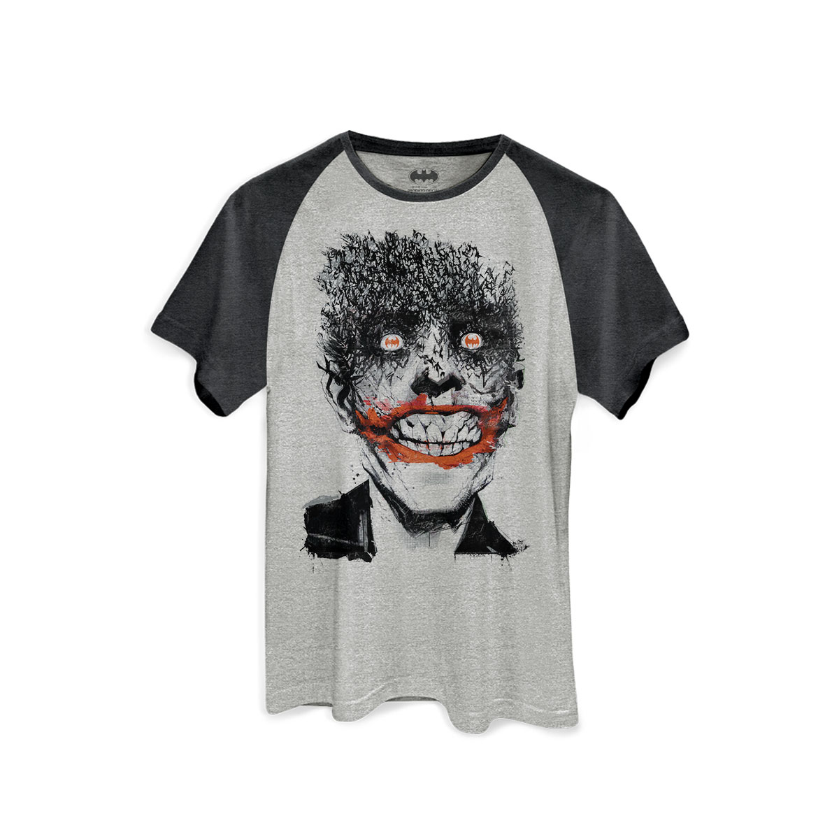 Camiseta Raglan Premium Masculina The Joker Happy Bats