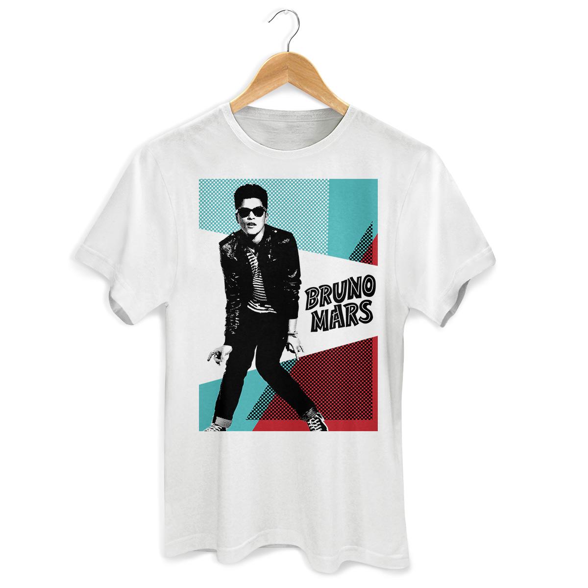 Camiseta Unissex Bruno Mars Hooligans