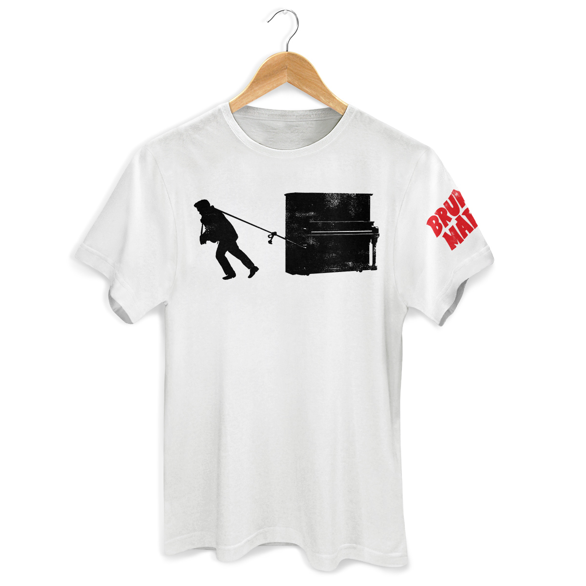 Camiseta Unissex Bruno Mars Piano