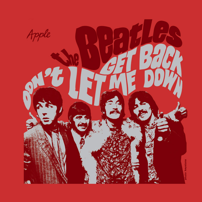 Camiseta Unissex The Beatles Don´t Let Me Down