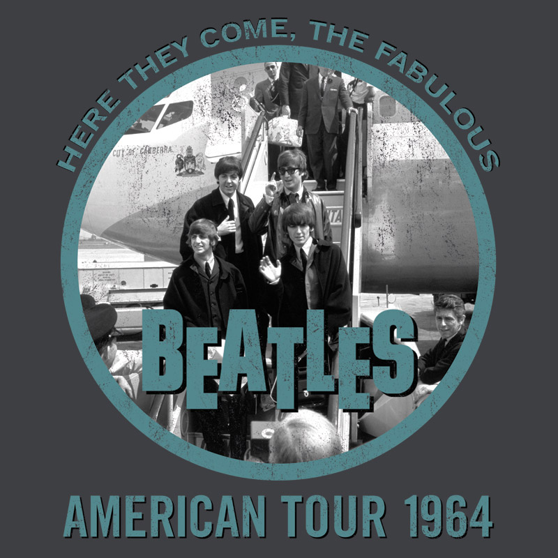 Camiseta Unissex The Beatles Fabulous American Tour 1964