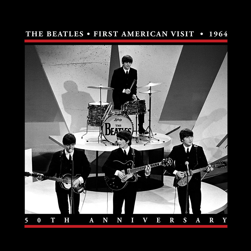 Camiseta Unissex The Beatles First American Visit 1964
