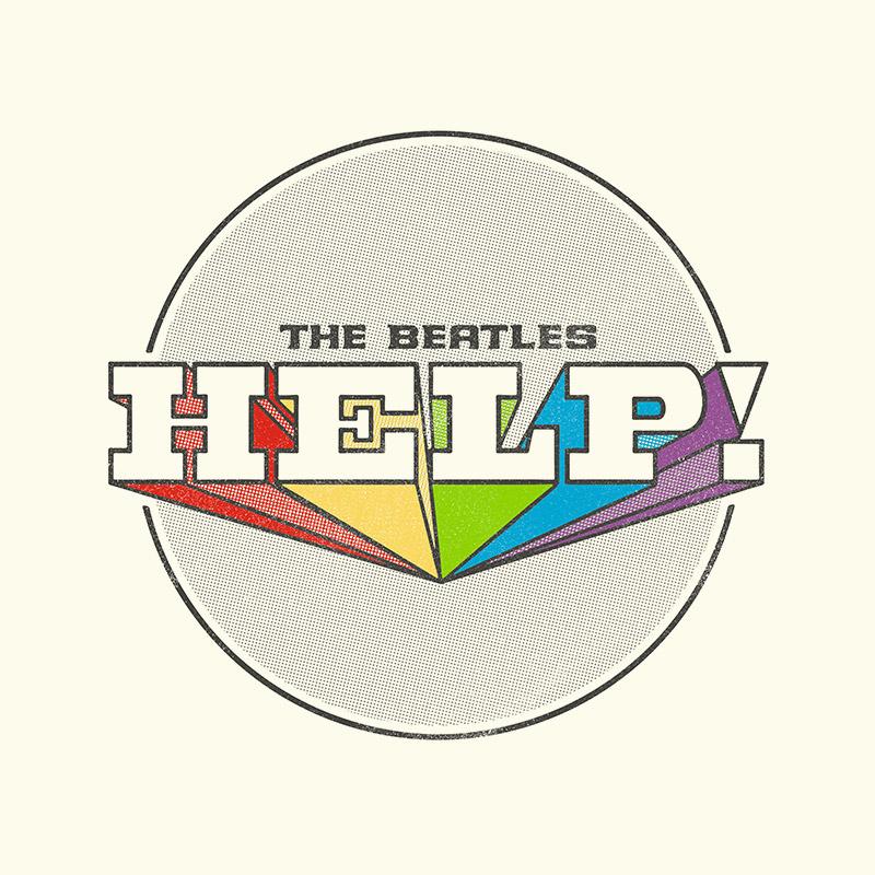 Camiseta Unissex The Beatles Help! 2