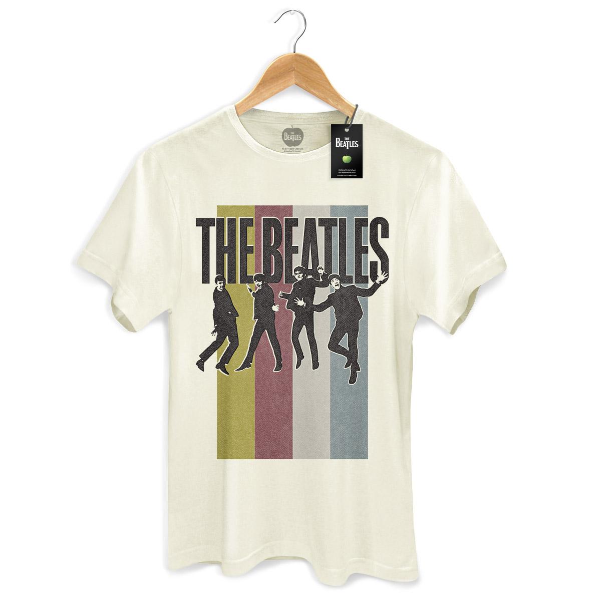Camiseta Unissex The Beatles Jump