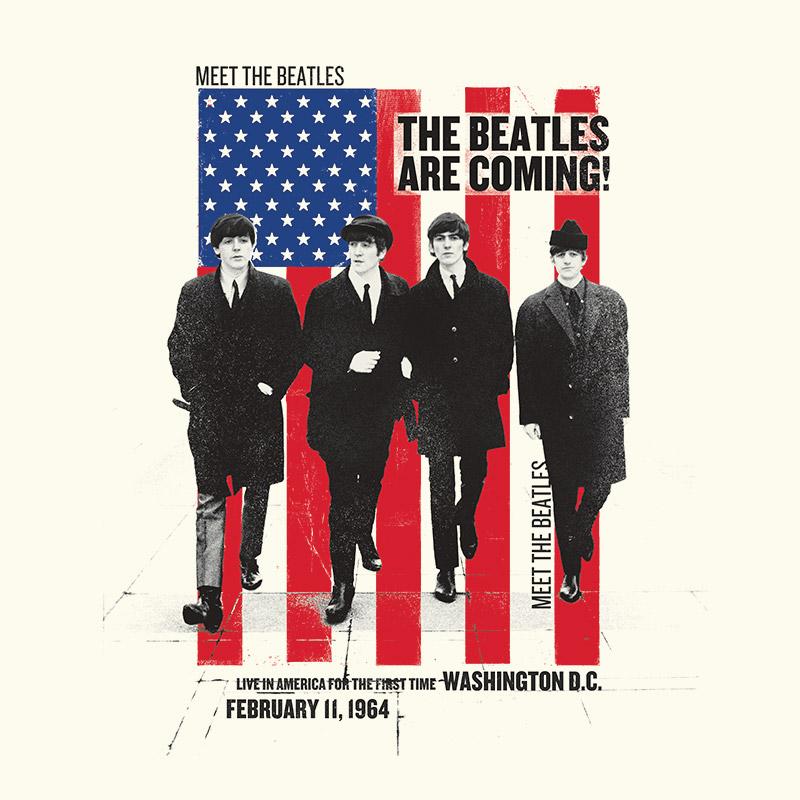 Camiseta Unissex The Beatles The Beatles Are Coming