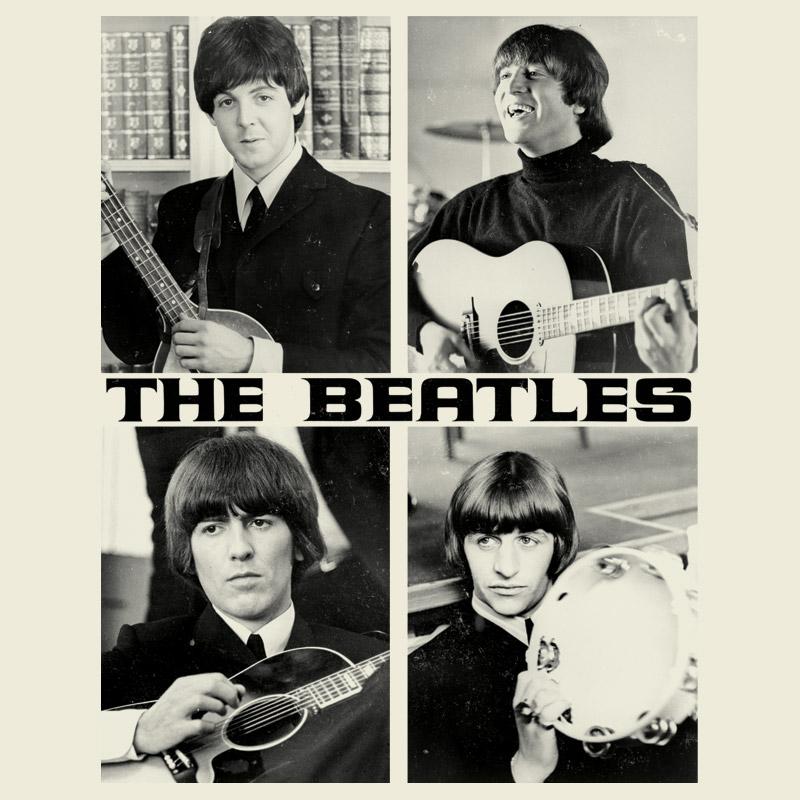 Camiseta Unissex The Beatles Pictures