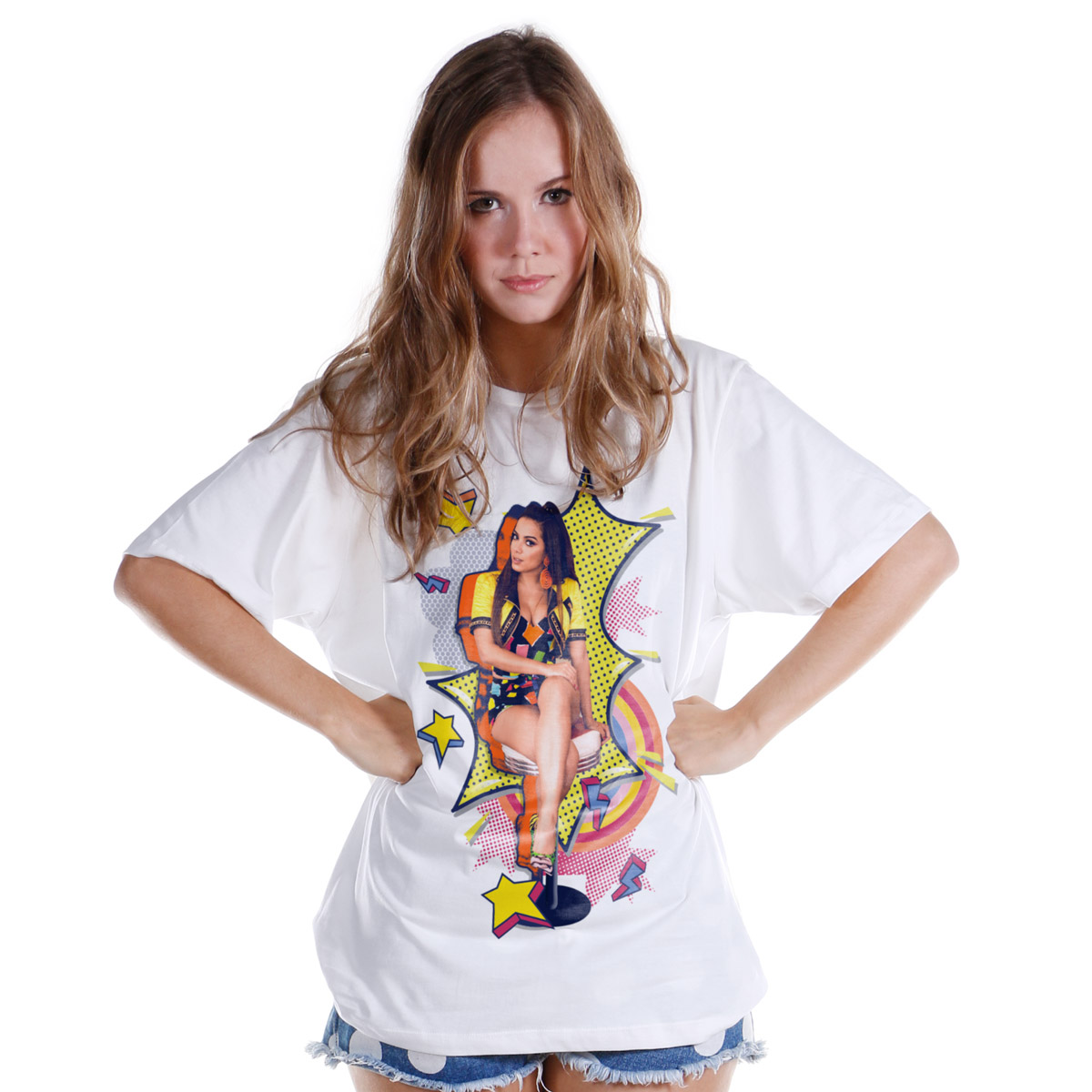 Camisetão Anitta Pop Art