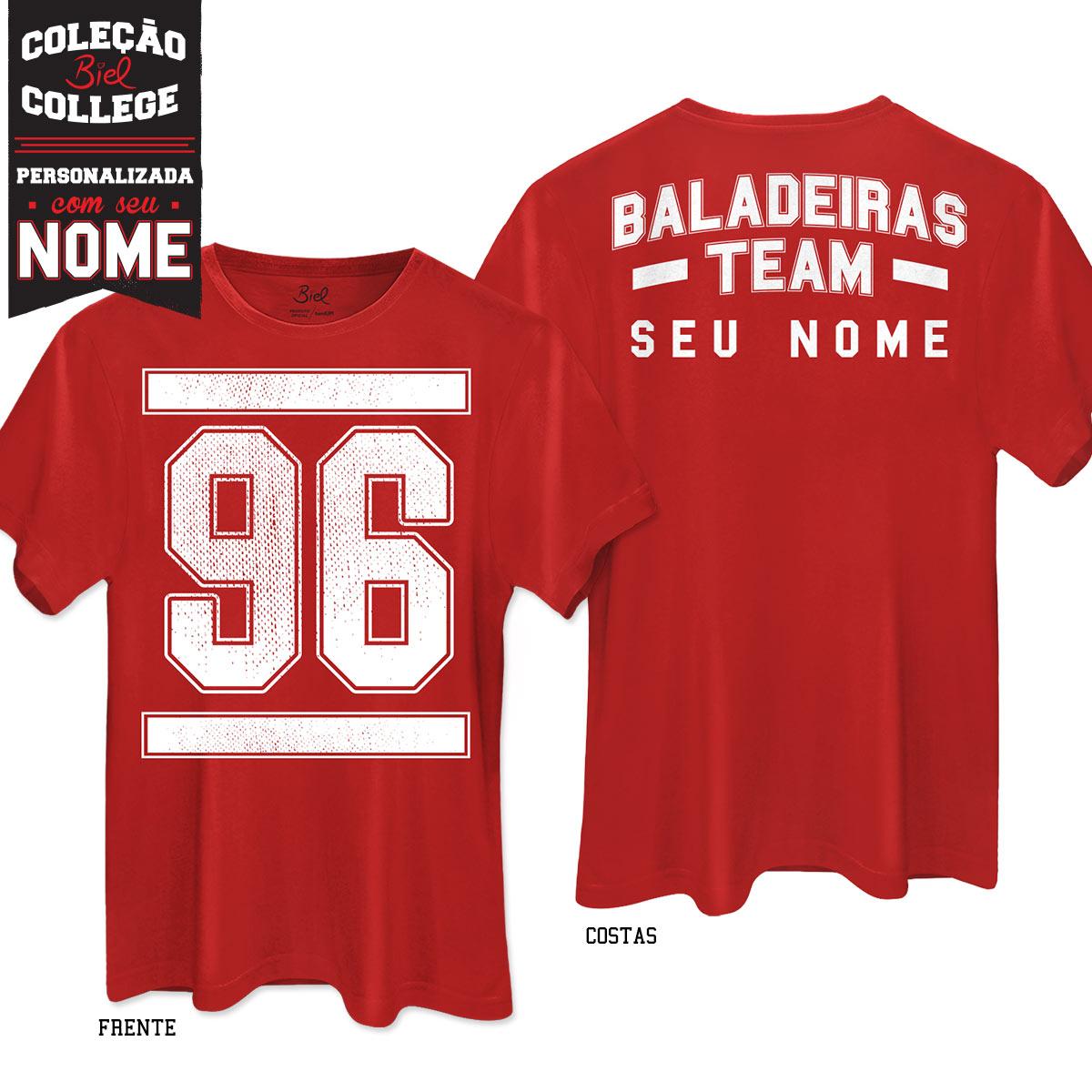 Camisetão Biel Baladeiras Team