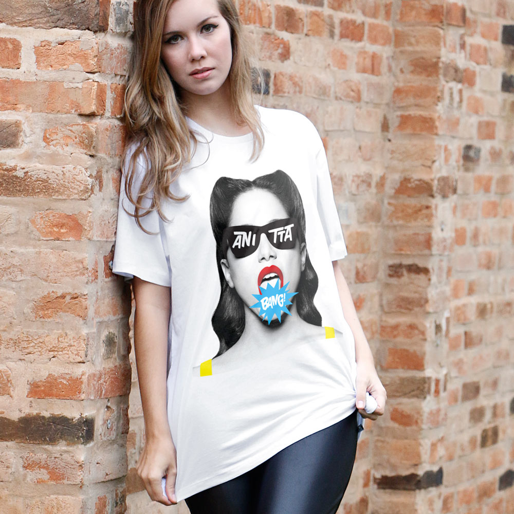 Camisetão Feminino Anitta Bang!