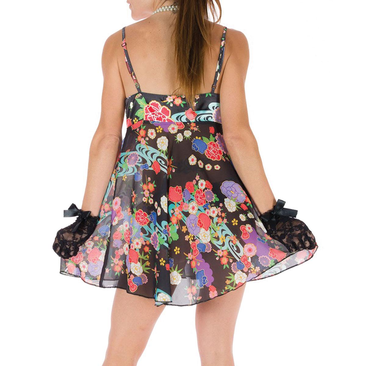 Camisola e Calcinha Hello Kitty Cerejeira