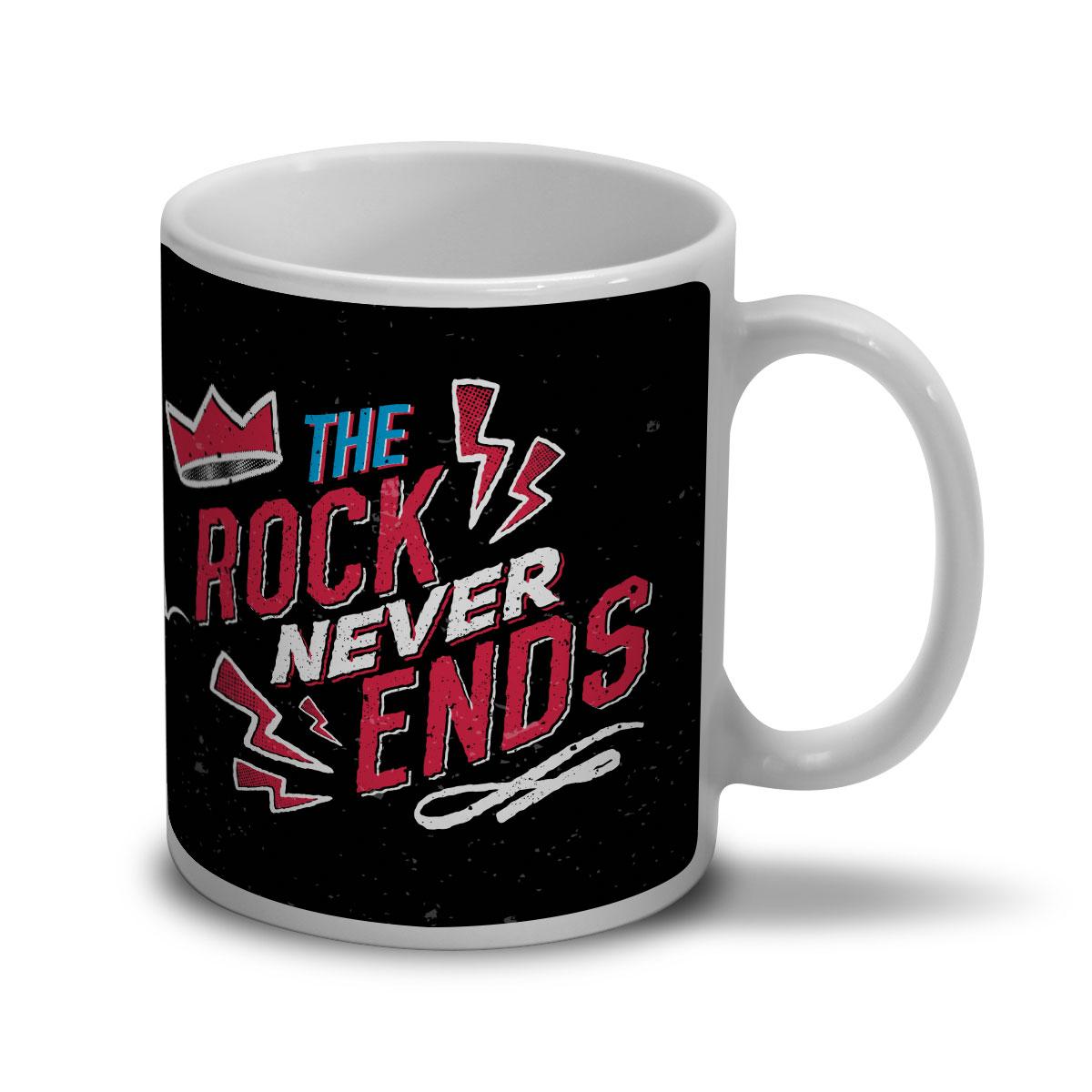 Caneca 89FM A Rádio Rock 30 Anos The Rock Never Ends