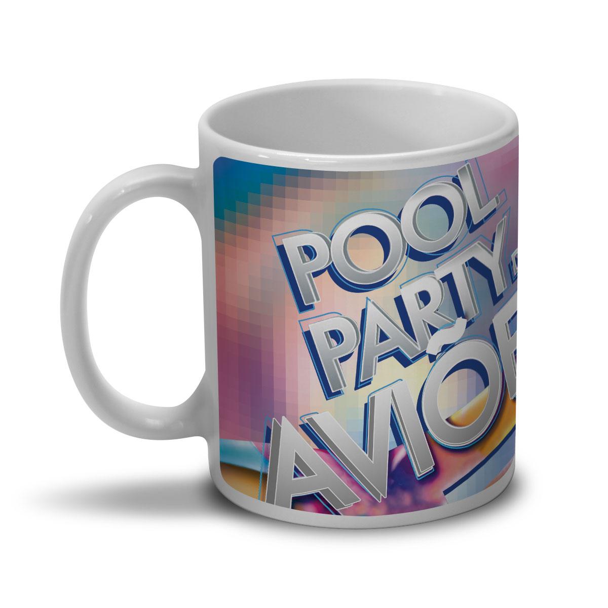 Caneca Avi�es do Forr� Capa Pool Party
