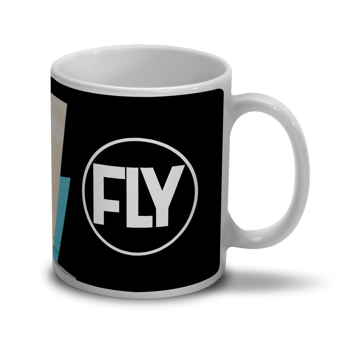 Caneca Banda Fly Foto Colors