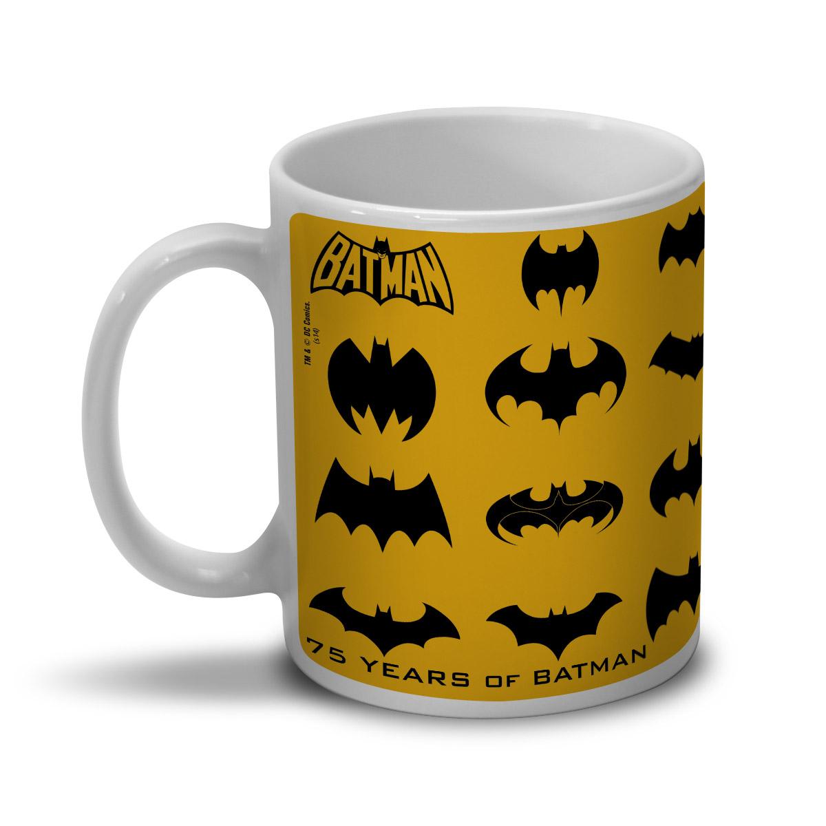 Caneca Batman 75 Anos Logo Collection
