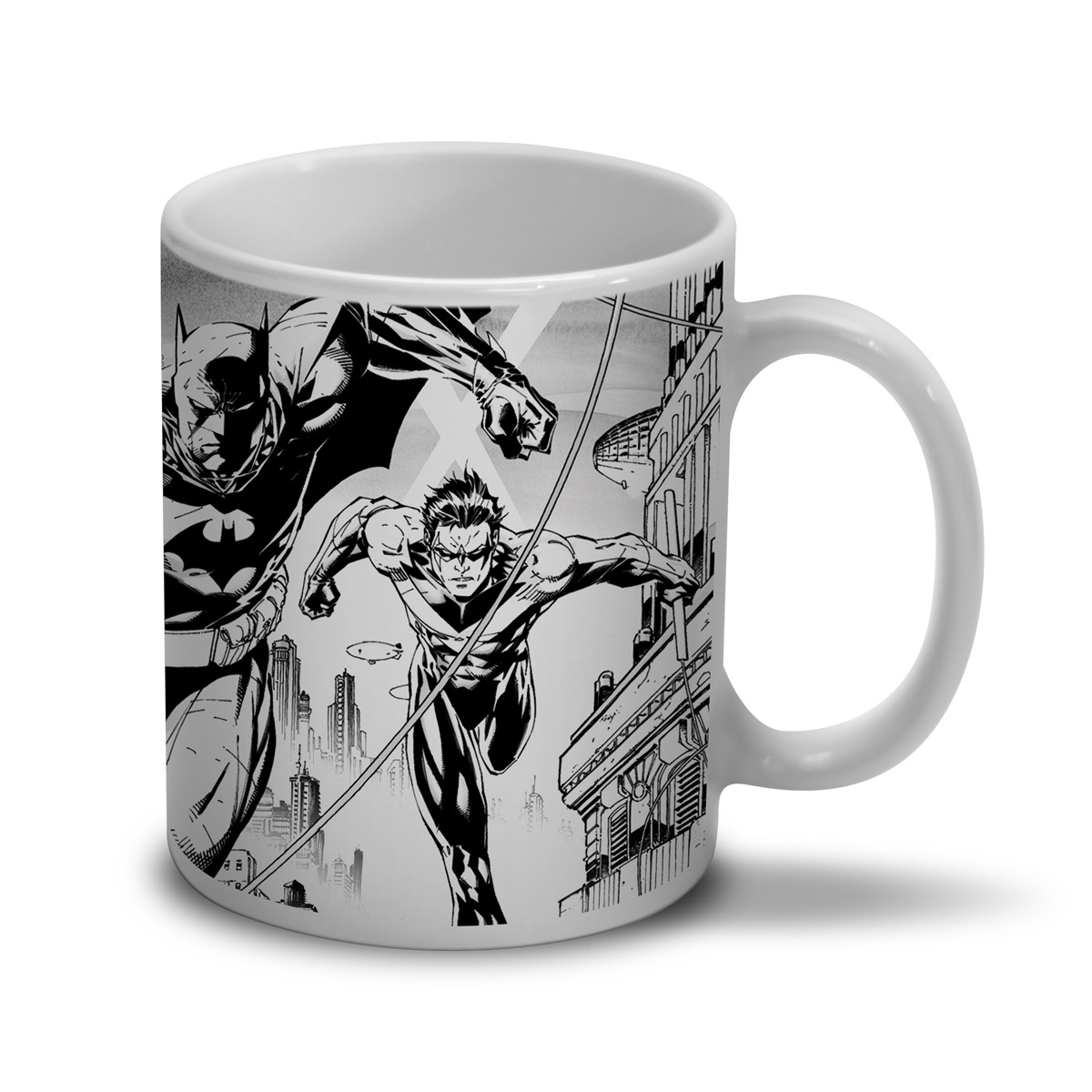Caneca Batman Tracing Batman e Robin