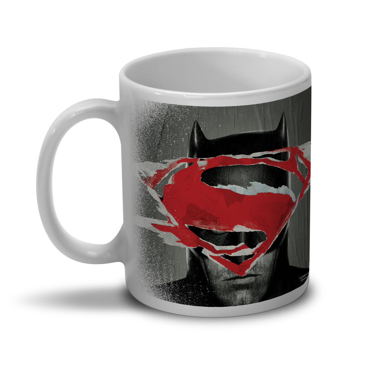 Caneca Batman VS Superman Face to Face