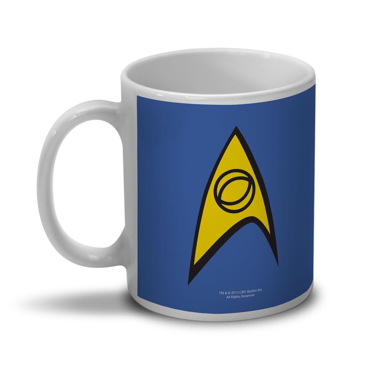 Caneca Star Trek Command Blue