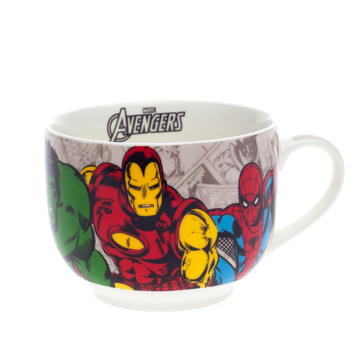 Caneca de Sopa MARVEL Her�is