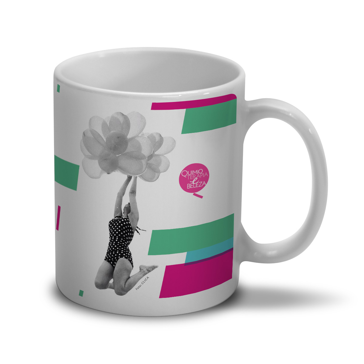 Caneca QeB Happy Girls