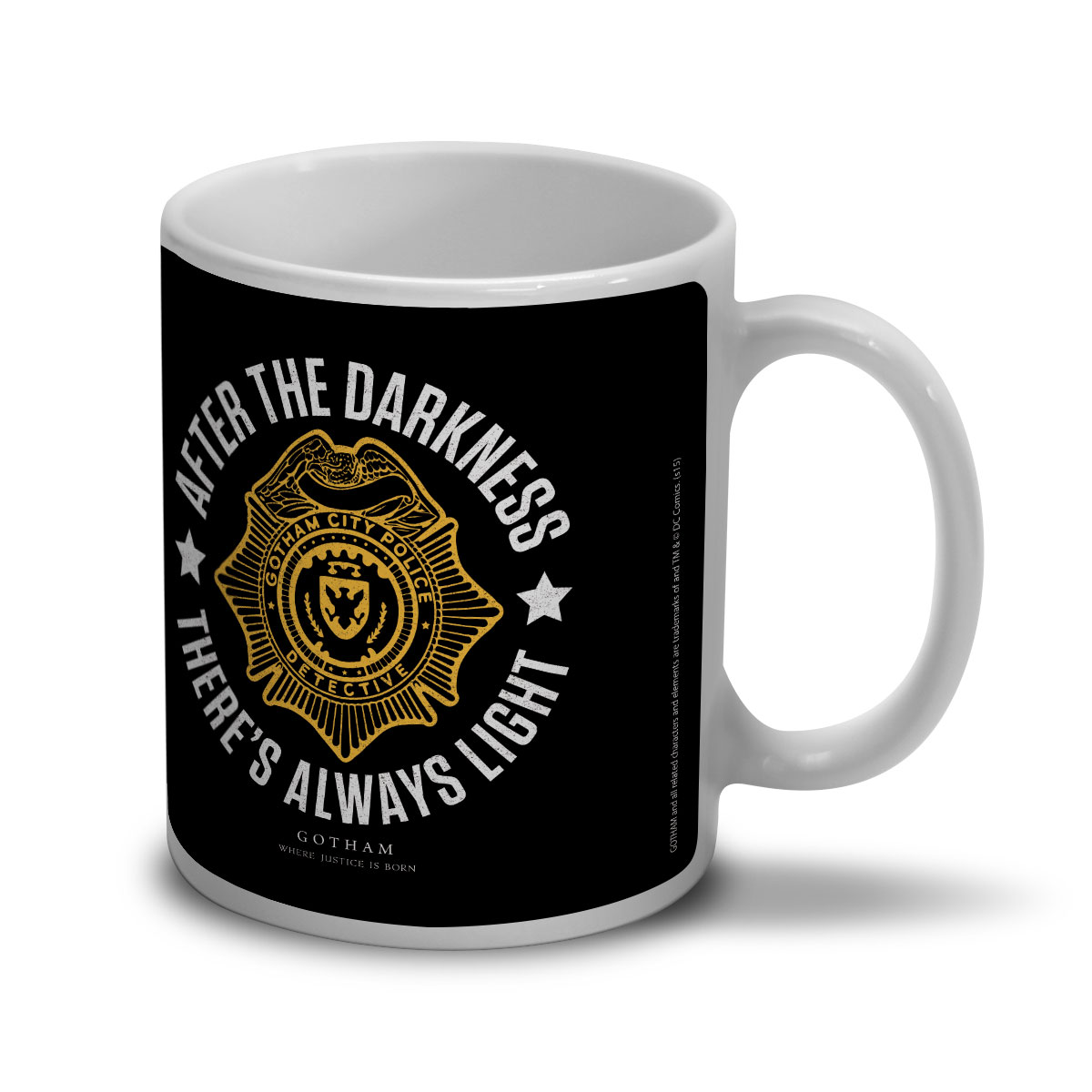 Caneca Gotham There�s Always Light