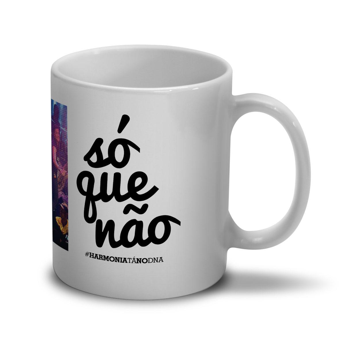 Caneca Harmonia do Samba Só que Não