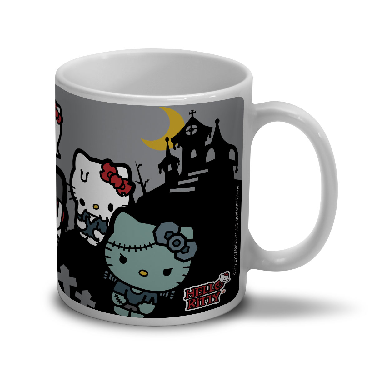 Caneca Hello Kitty Skull