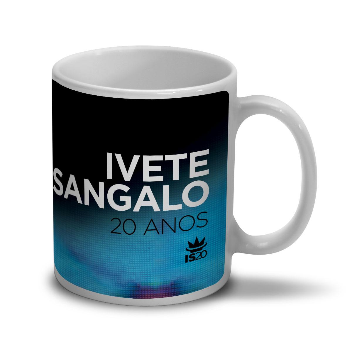 Caneca Ivete Sangalo Capa 20 Anos