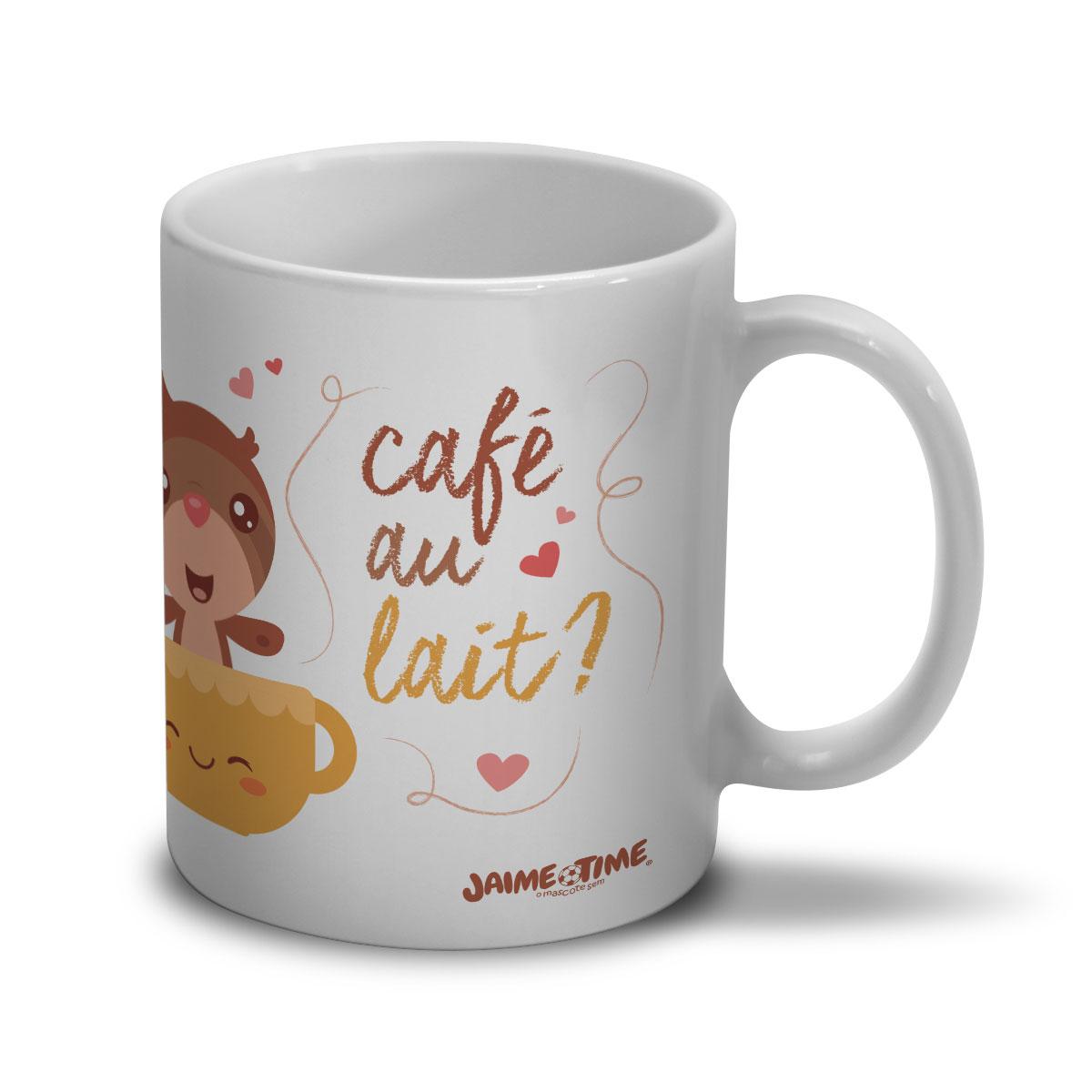 Caneca Jaime Cafe au Lait?