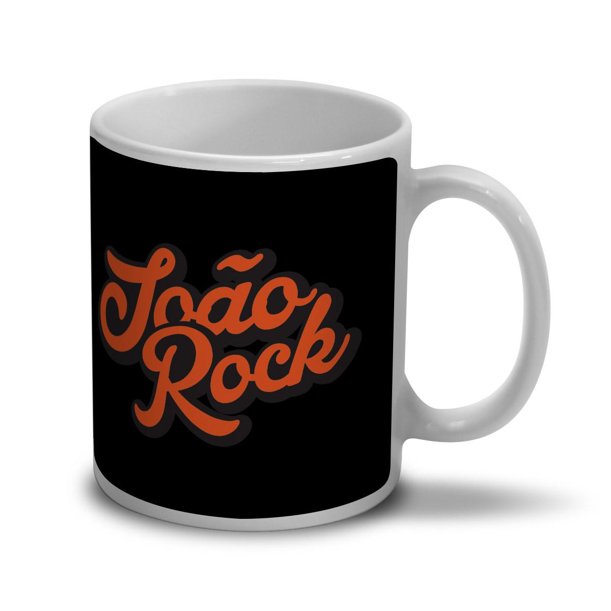 Caneca João Rock Logo