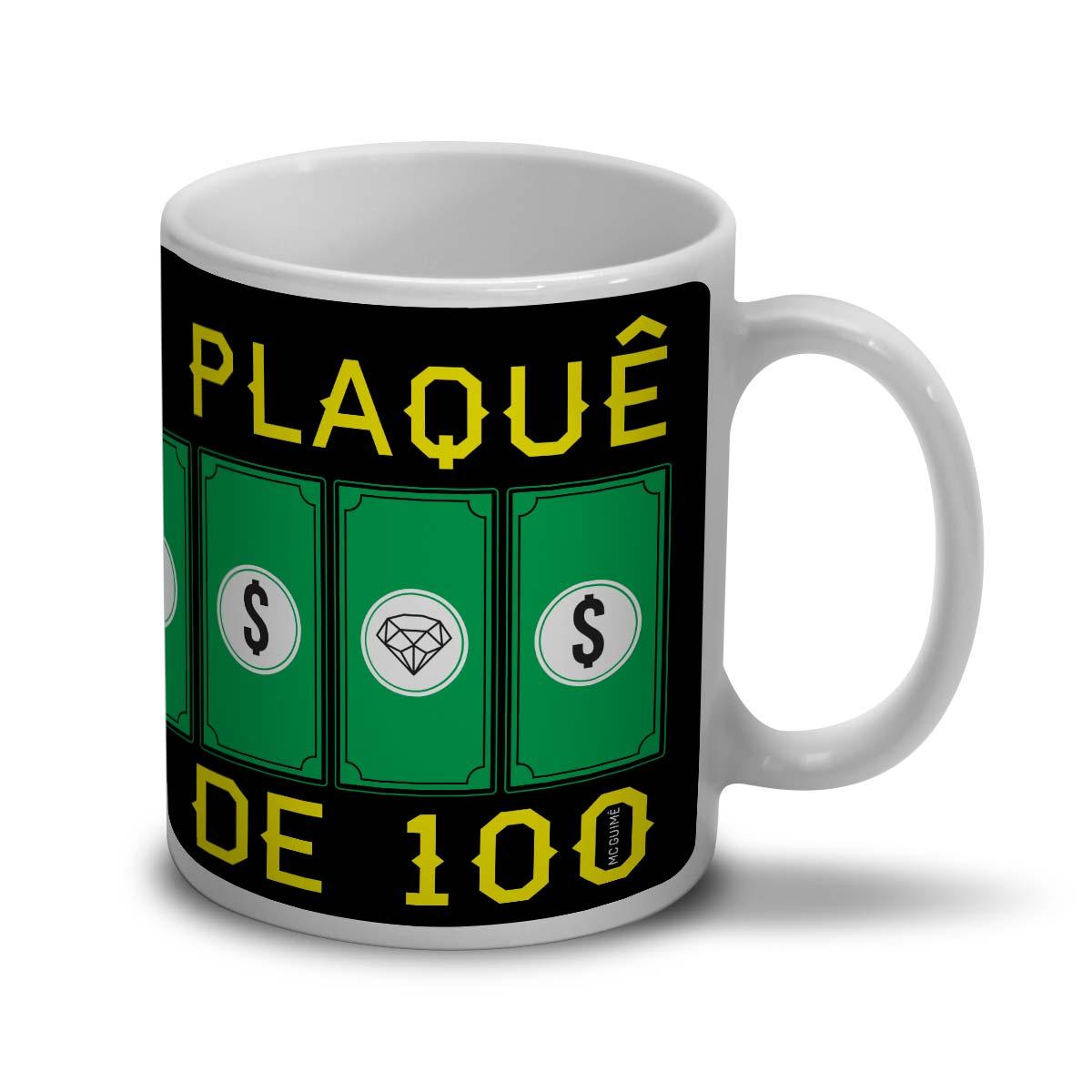 Caneca MC Guim� Plaqu� de 100