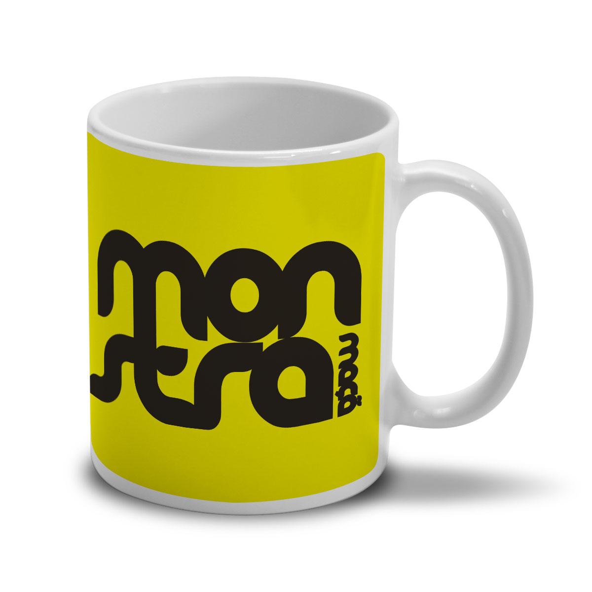Caneca Monstra Maçã Logo