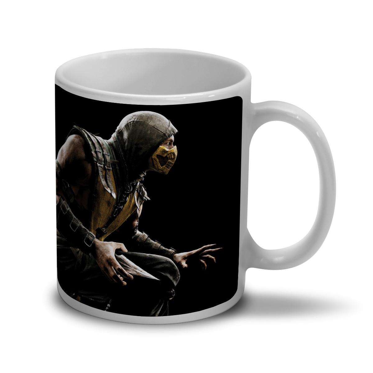 Caneca Mortal Kombat X Capa