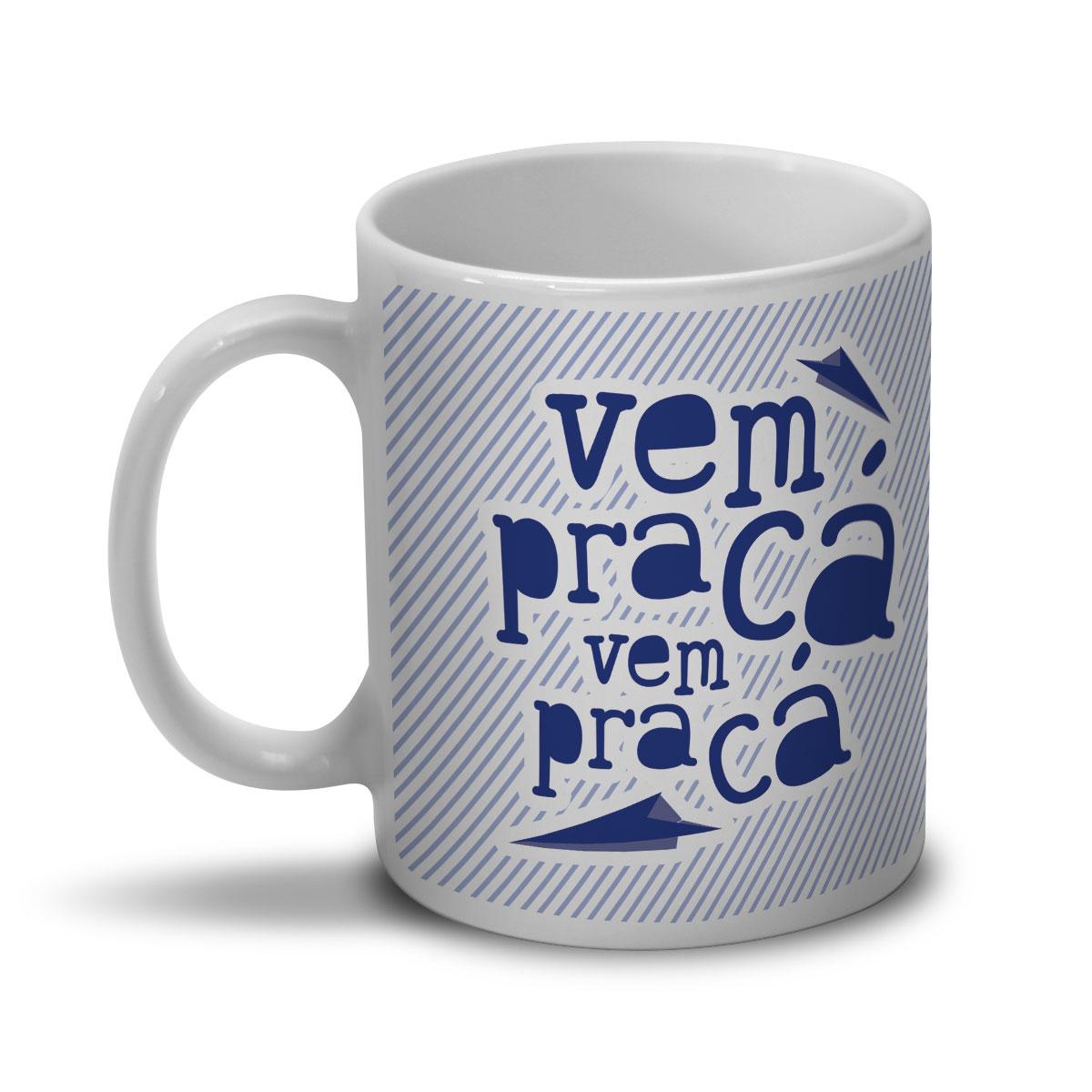 Caneca SBT Vem Pra Cá