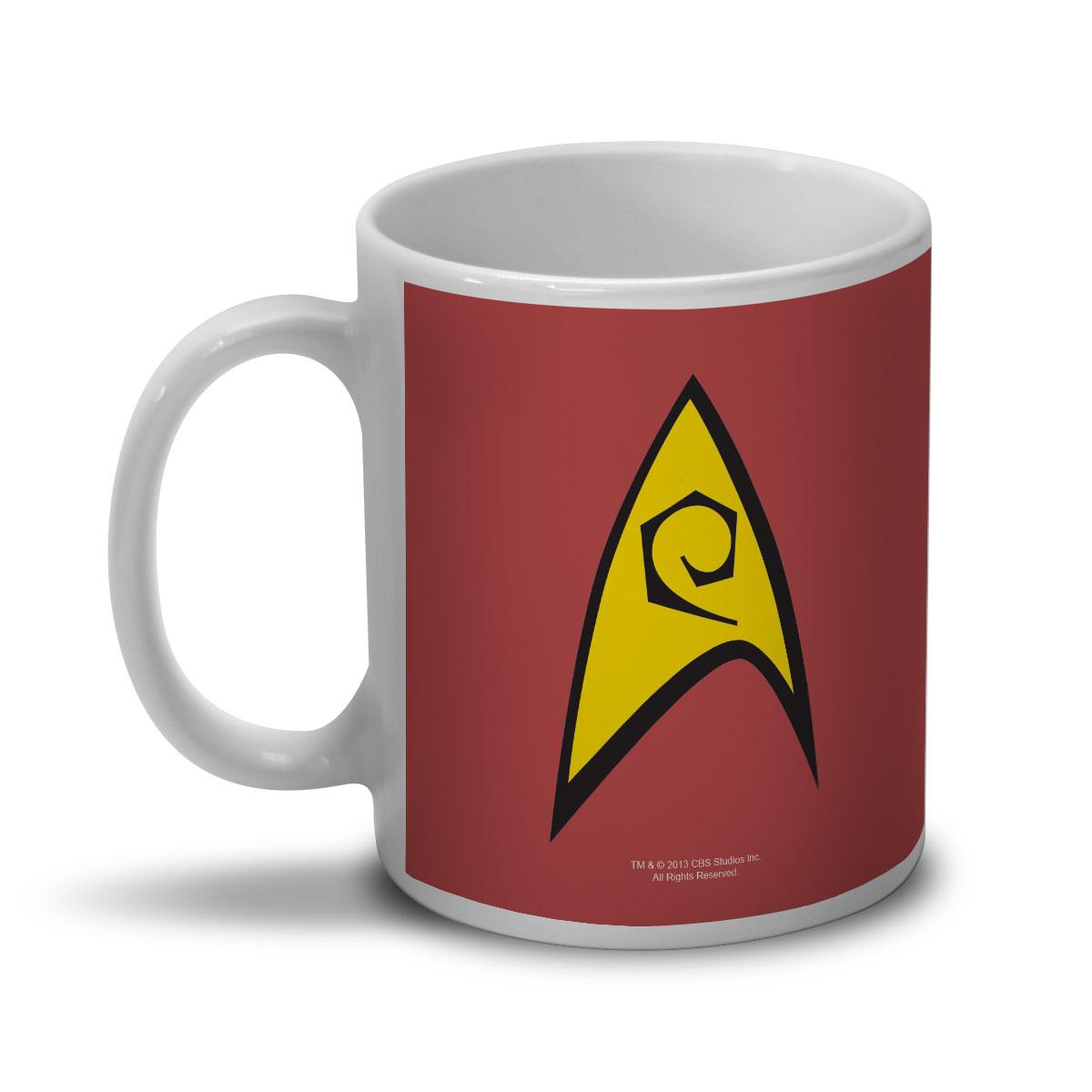 Caneca Star Trek Command Red