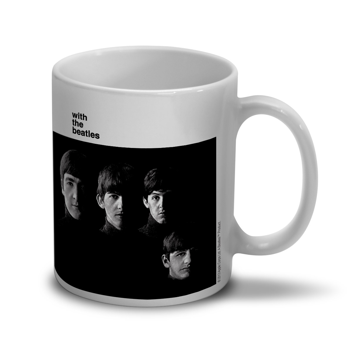 Caneca The Beatles With The Beatles