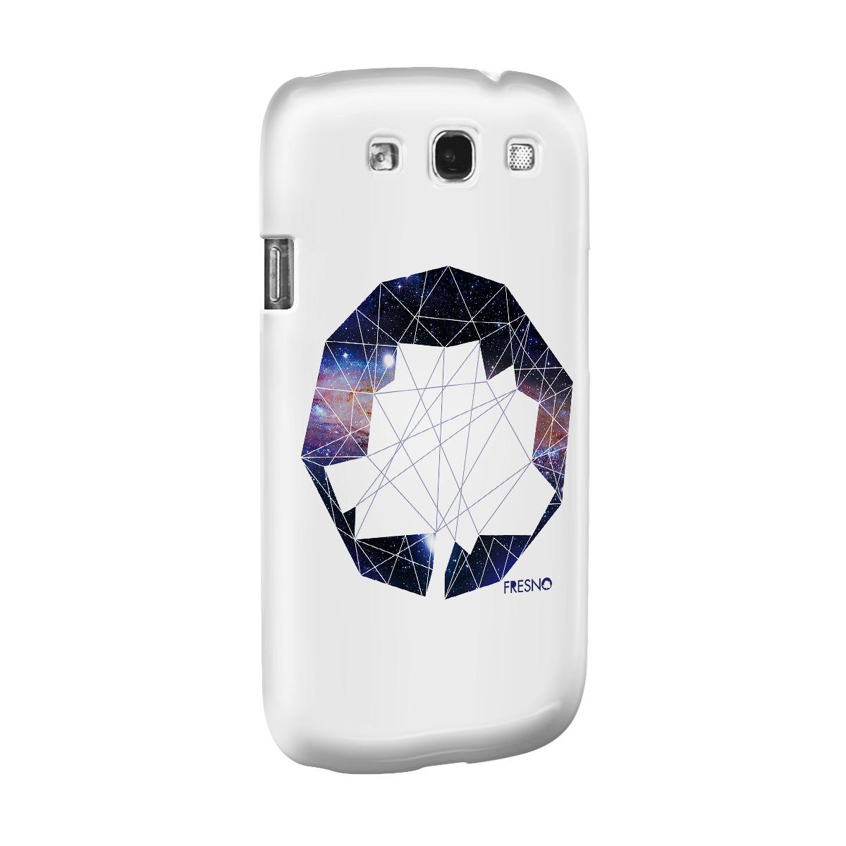 Capa de Celular Samsung Galaxy S3 Fresno Logo Galáxias