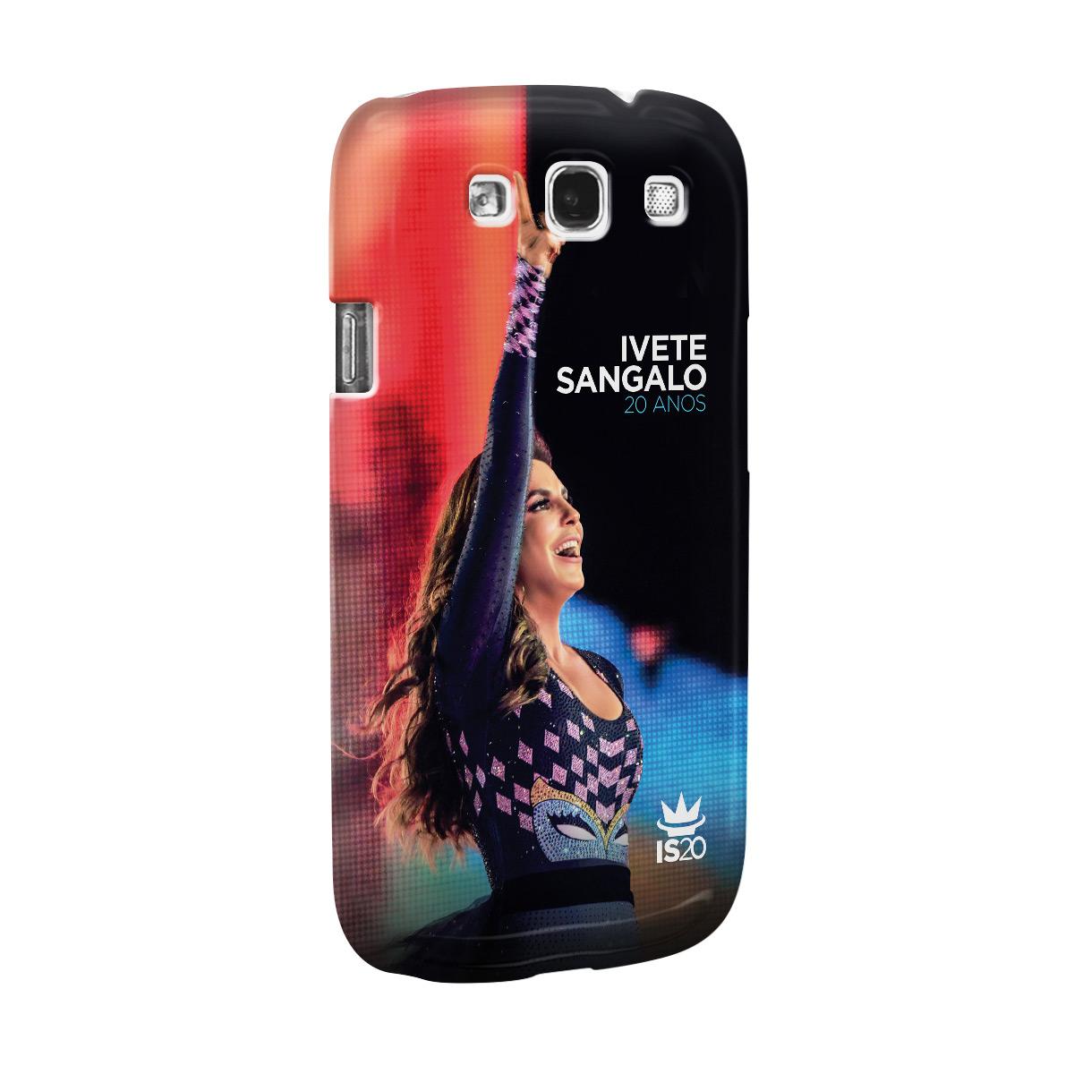 Capa de Celular Samsung Galaxy S3 Ivete Sangalo Capa 20 Anos