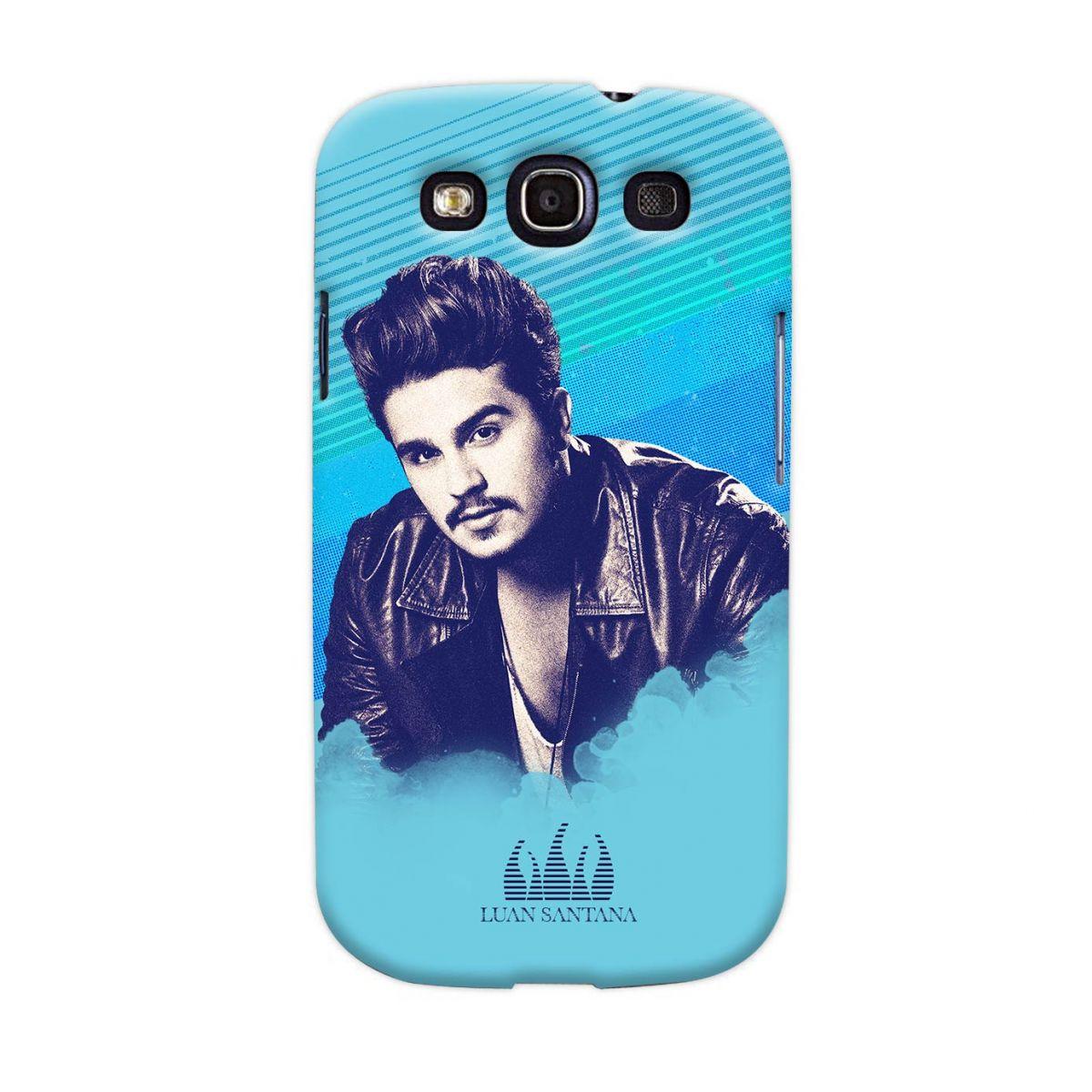 Capa de Celular Samsung Galaxy S3 Luan Santana Sky