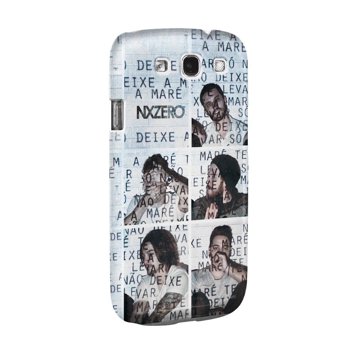 Capa de Celular Samsung Galaxy S3 NXZero Não Deixe a Maré Te Levar